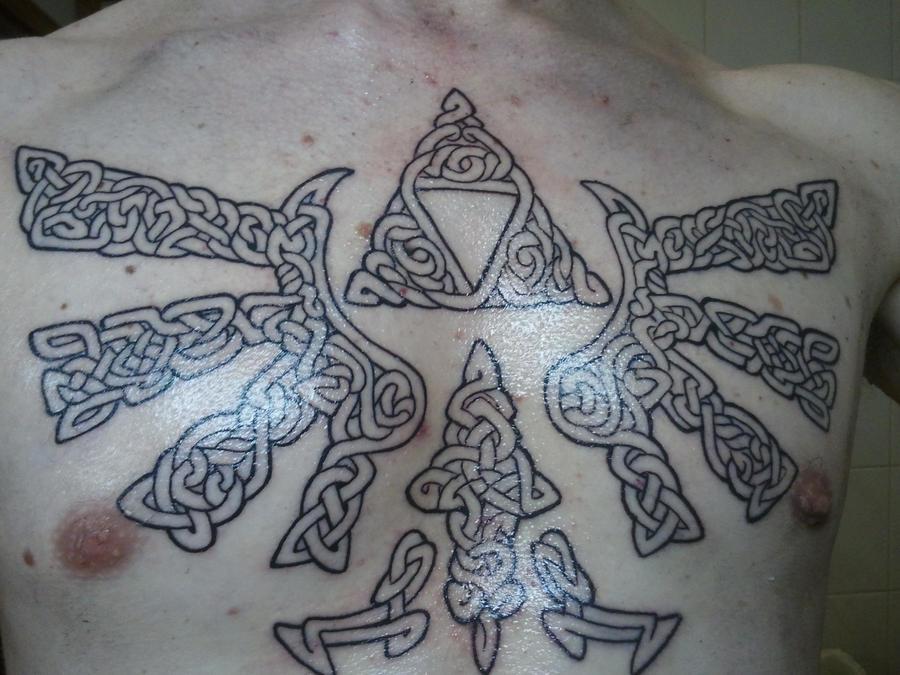 Hylian Crest Tattoo Design