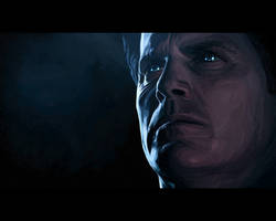 The Illusive Man by Antemmasia
