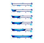 Blue Pixel Progress bars by xXNightcallerXx