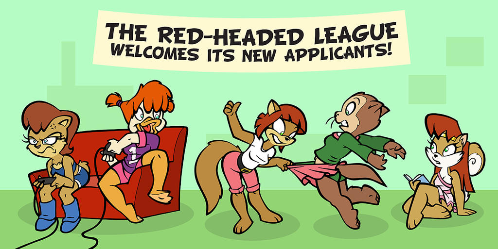Ottoline and The Red Headed League part 1 by toonbat