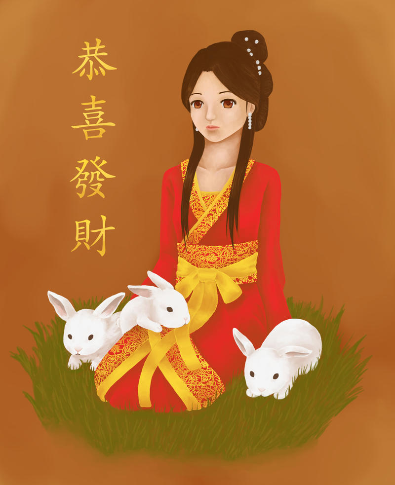 Year of the Rabbit by Jessicutie