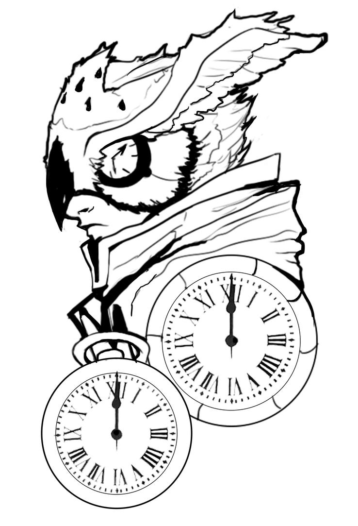 The Owl Man by Herestia