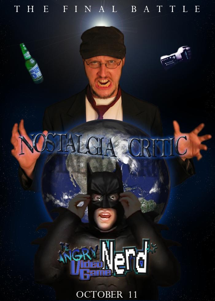 avgn vs nc close up poster by mackentack on deviantart
