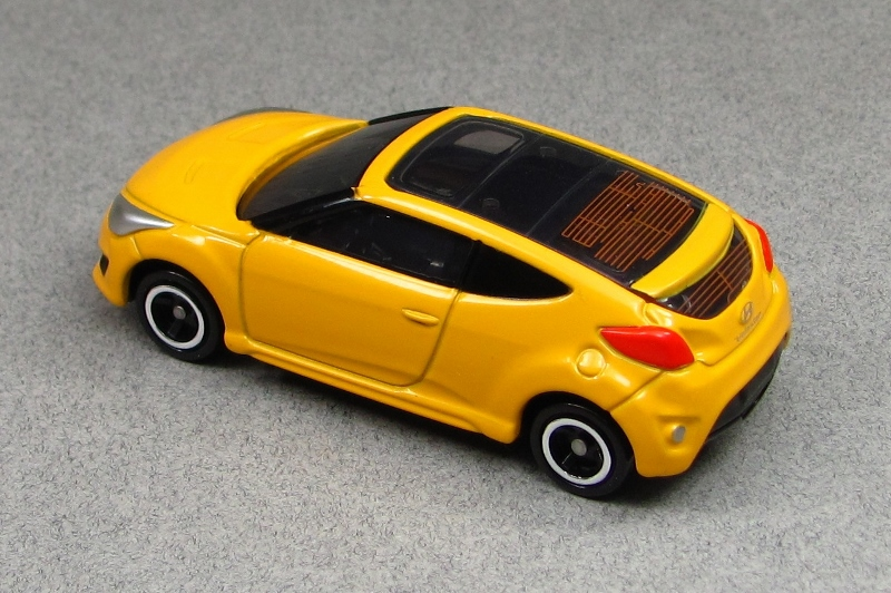 2013 Hyundai Veloster Turbo Yellow T R Tomica By