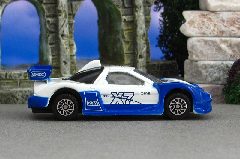 2004 Honda Nsx Jgtc White And Blue Sr Dickie By