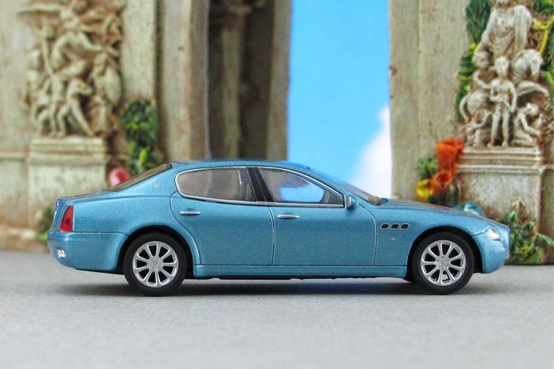 2004 Maserati Quattroporte Blue Sr Kyosho By Deanomite17703cotd
