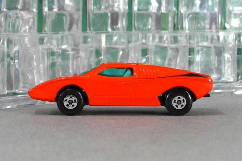 1971 Lamborghini Countach Lp500 Prototype Orange By