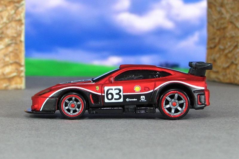 2004 Ferrari 575 Gtc Matte Red Sl Hot Wheels By