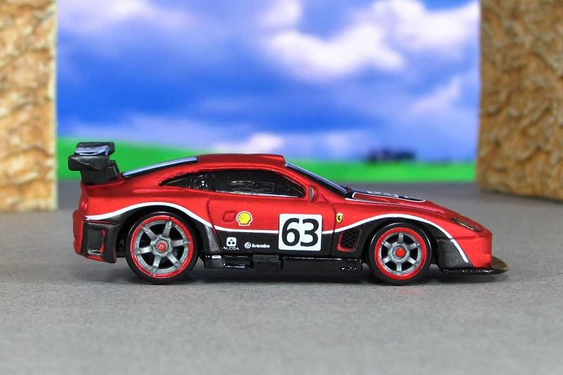 2004 Ferrari 575 Gtc Matte Red Sr Hot Wheels By