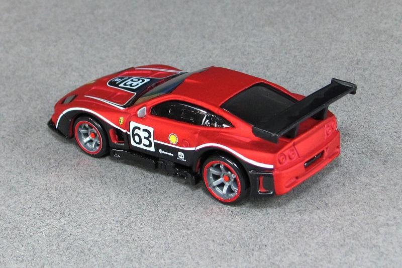 2004 Ferrari 575 Gtc Matte Red Tr Hot Wheels By