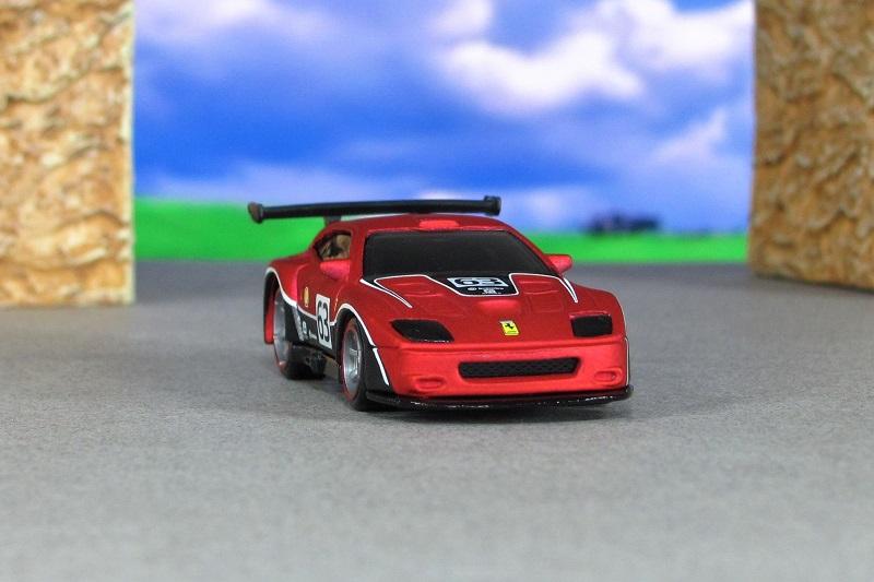2004 Ferrari 575 Gtc Matte Red Zf Hot Wheels By