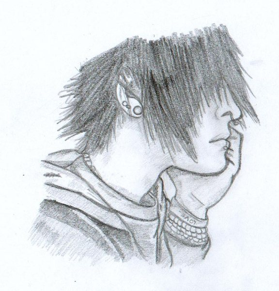 Emo Alone Drawings Sad Emo Boy Drawing