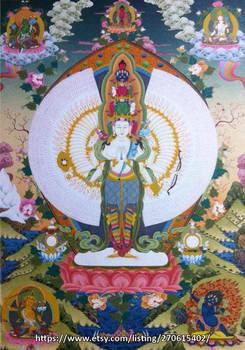 Medium Avalokitesvara / Chenrezig /  Lokesor