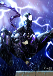 Spider-man Symbiote suit by Roman-fuaaa