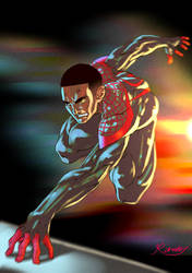 Spider-man (Miles) by Roman-fuaaa