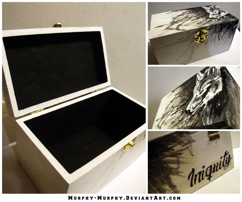 Iniquity Keepsake Box by Murphy-Murphy