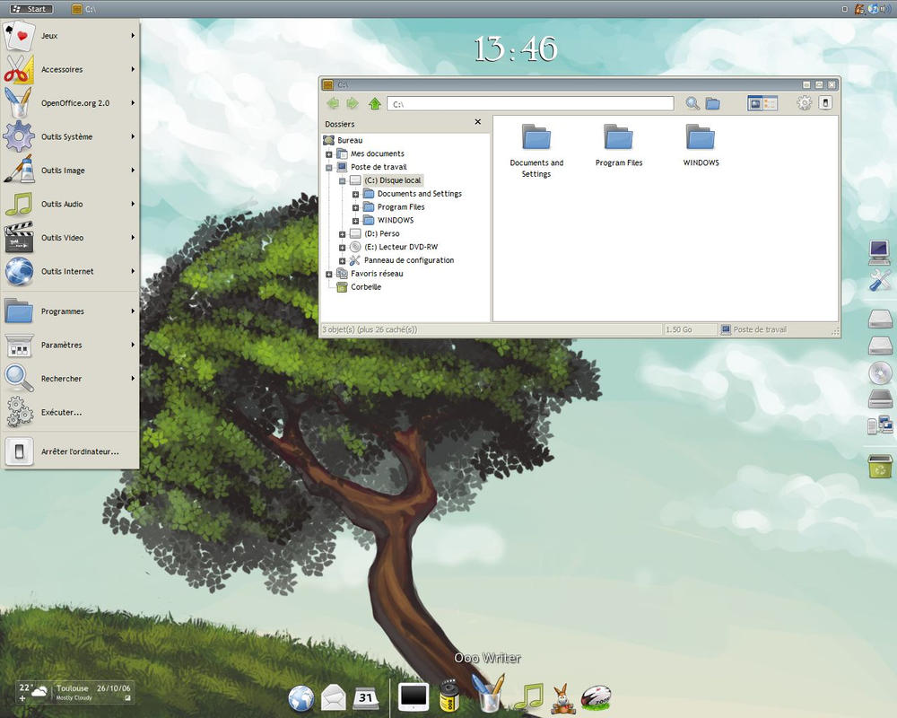 My Tango Desktop by Brocoli2