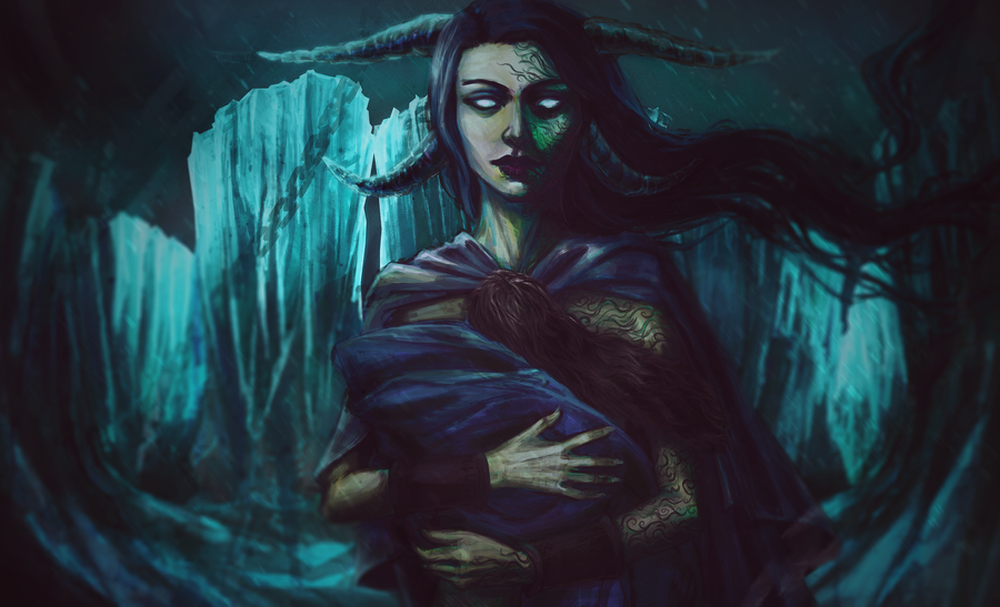 Image of Hel Queen of Helheim