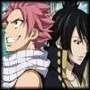 Natsu and Zeref avatar by evilmonkzilla
