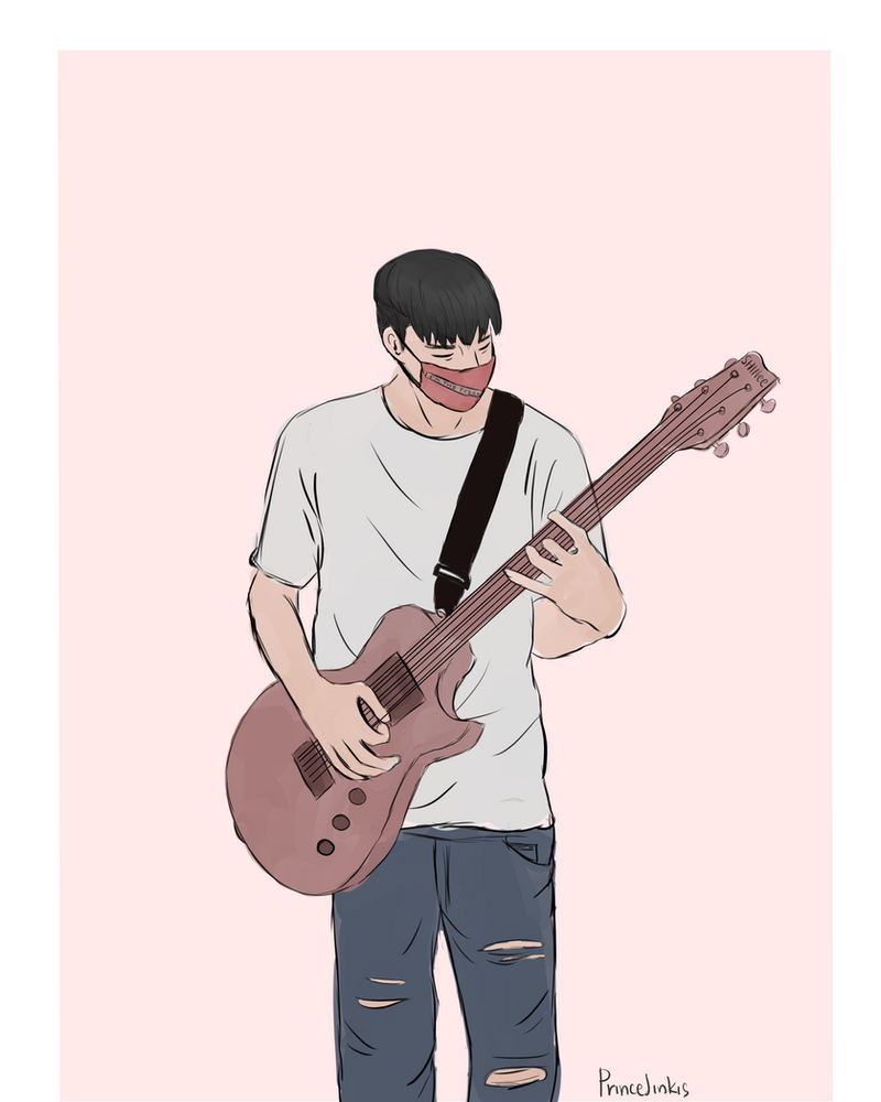 Masked Guitarrist Kibum by princejinkis