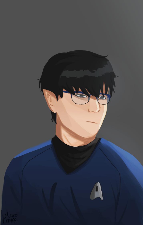 Vulcan Yuuri by princejinkis