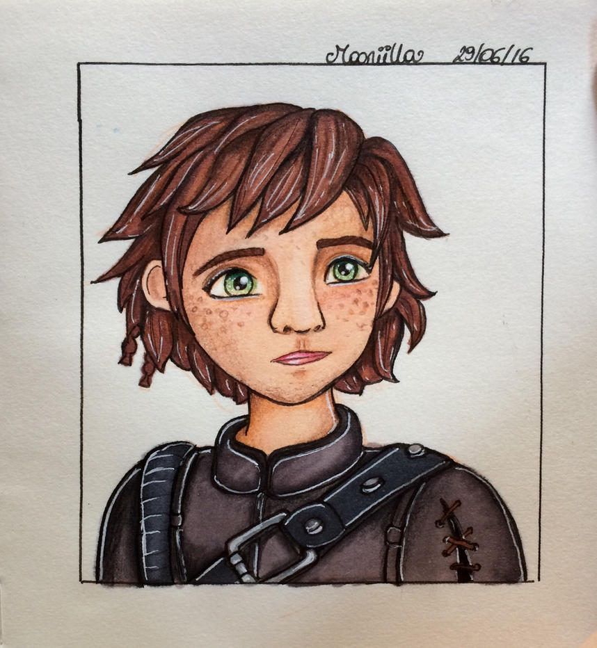 Hiccup by Mooniilla