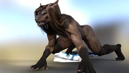 she's a beast by Hulksmash31