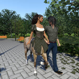 a fantasy relationship