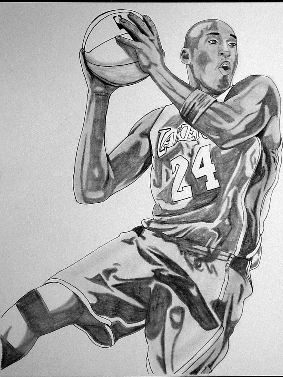 Coby Bryant Colouring Pages