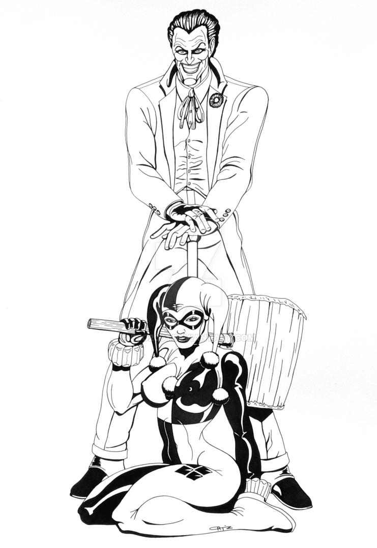 Joker and Harley Commission by ESO2001