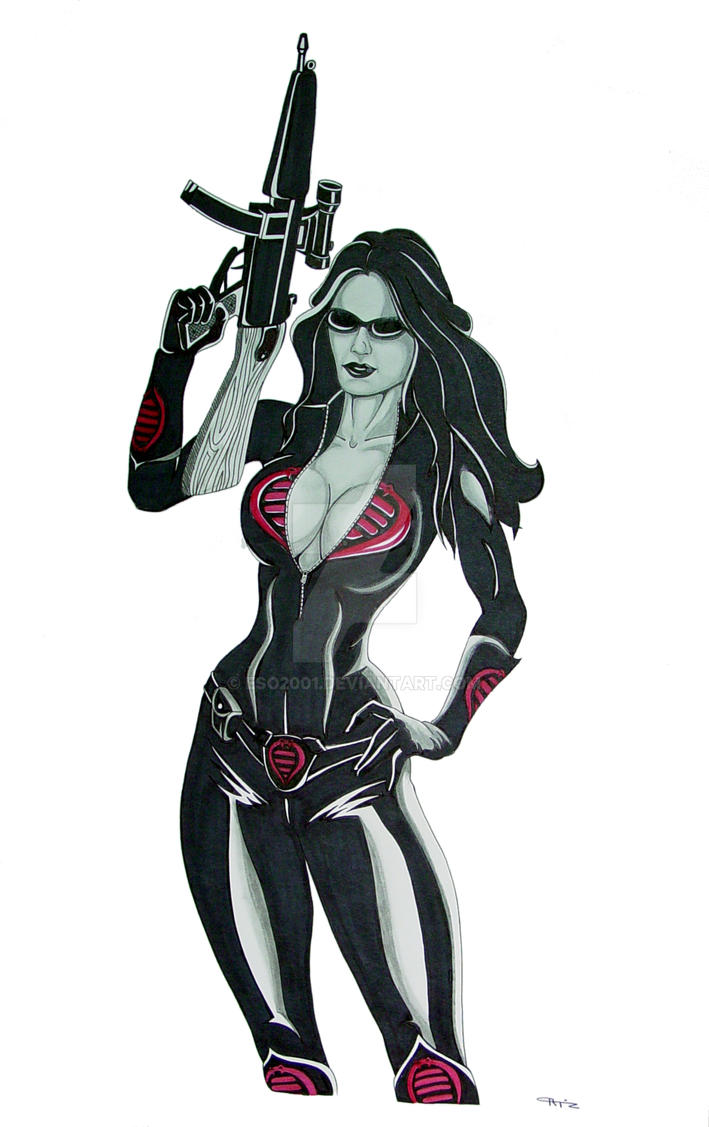 Baroness from GI Joe Commish by ESO2001