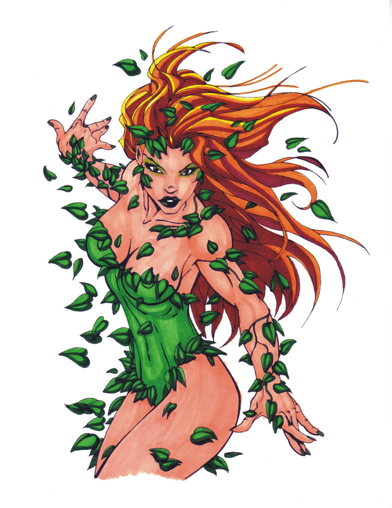 poison ivy turner markers by eso2001 on deviantart