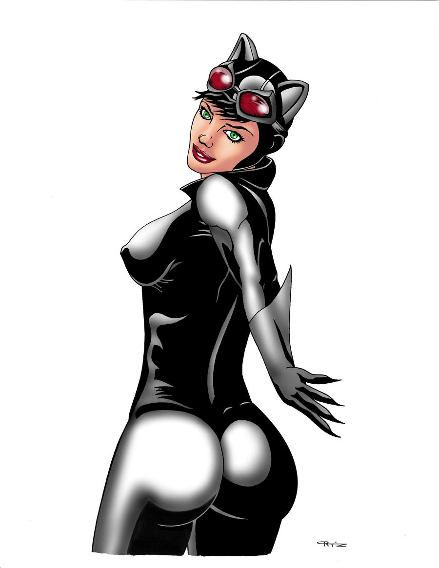 Catwoman Back Turn Color 1 by ESO2001