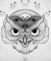 Owl Tattoo Sketch by LookAwake