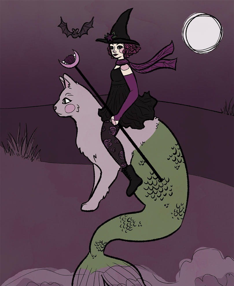 Kat the Sea Witch by themarvelgirl