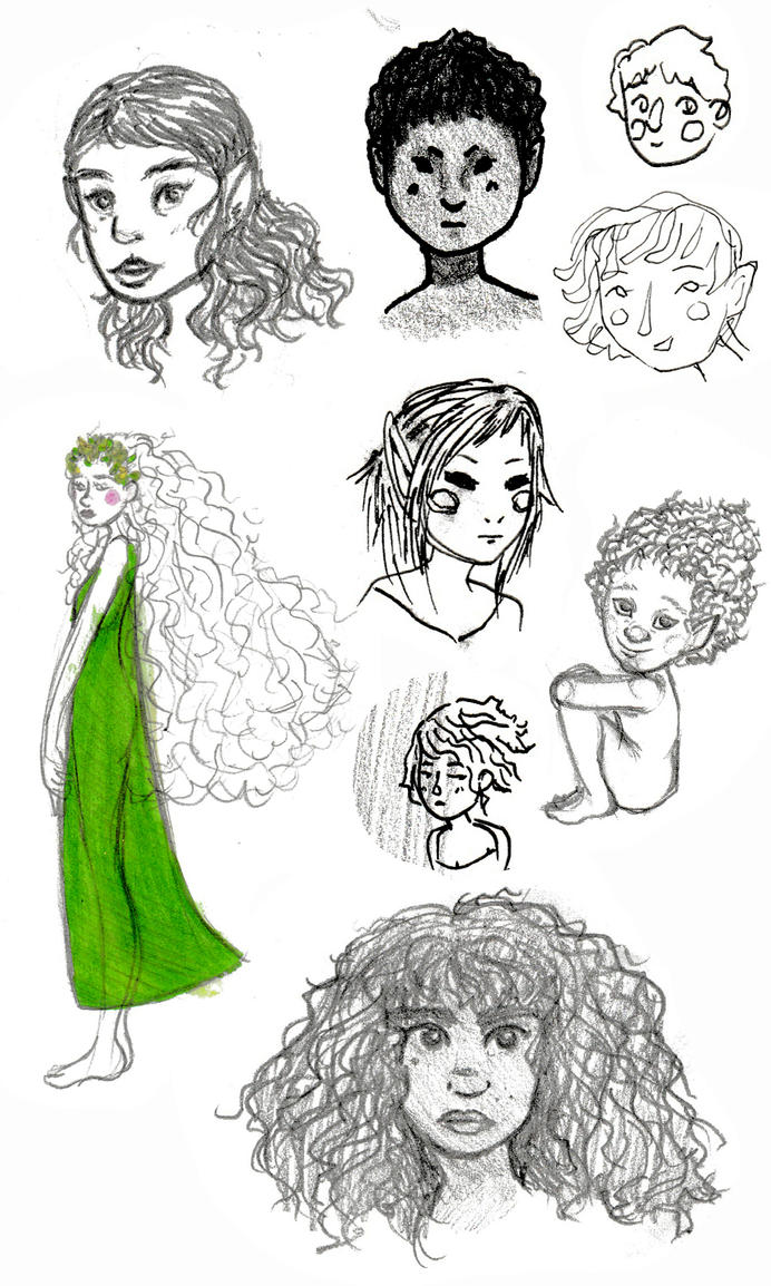traditional doodles by themarvelgirl
