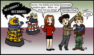 DW: Christmas, the alien way.. by blackbirdrose