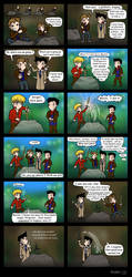 SPN - Merlin: A Swordid Affair by blackbirdrose