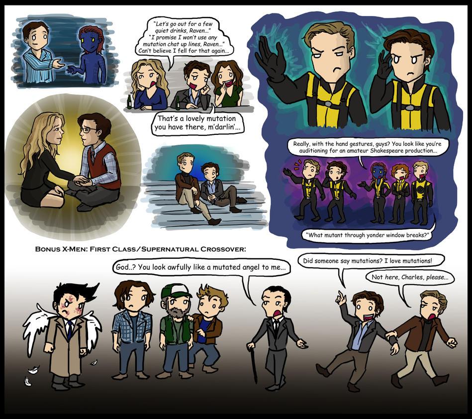 X-Men: First Class by blackbirdrose