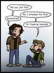 Dean Winchester's Freaking Talented