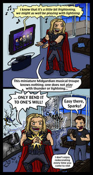 Avengers: Playing with Lightning
