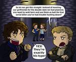 Sherlock: Double Date, Double Homicide