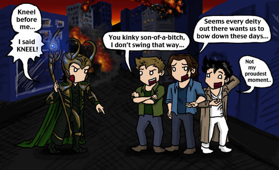 Loki vs SPN Boys