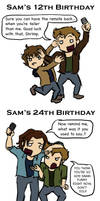 Sam and Dean: A Love-Height Relationship... by blackbirdrose