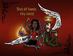 SPN: Kali and Gabriel