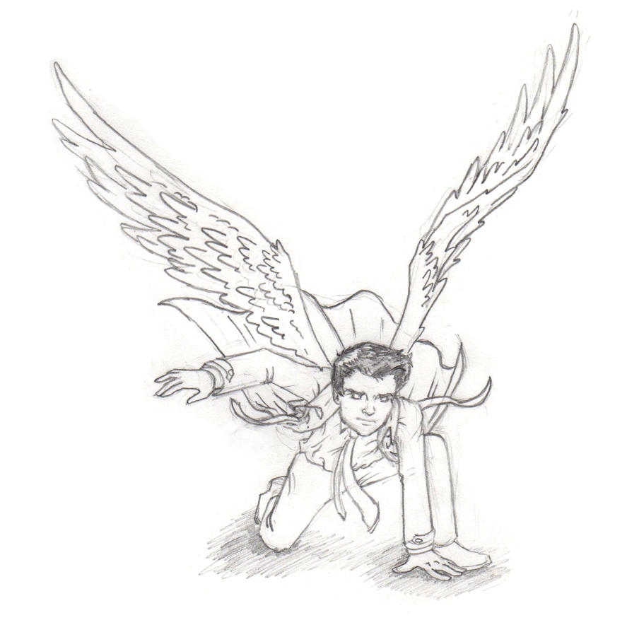Castiel supernatural coloring pages coloring pages for Supernatural coloring pages