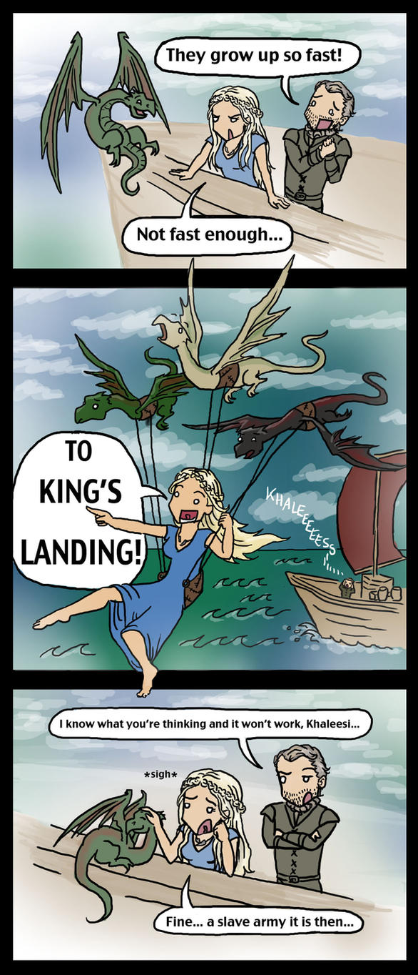 Game of Thrones: Daenerys' Daydreams by blackbirdrose