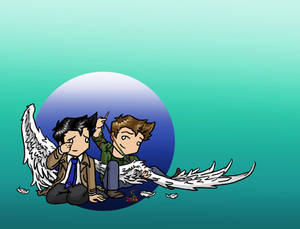 Dean/Cas: Take These Broken Wings and Learn To Fly