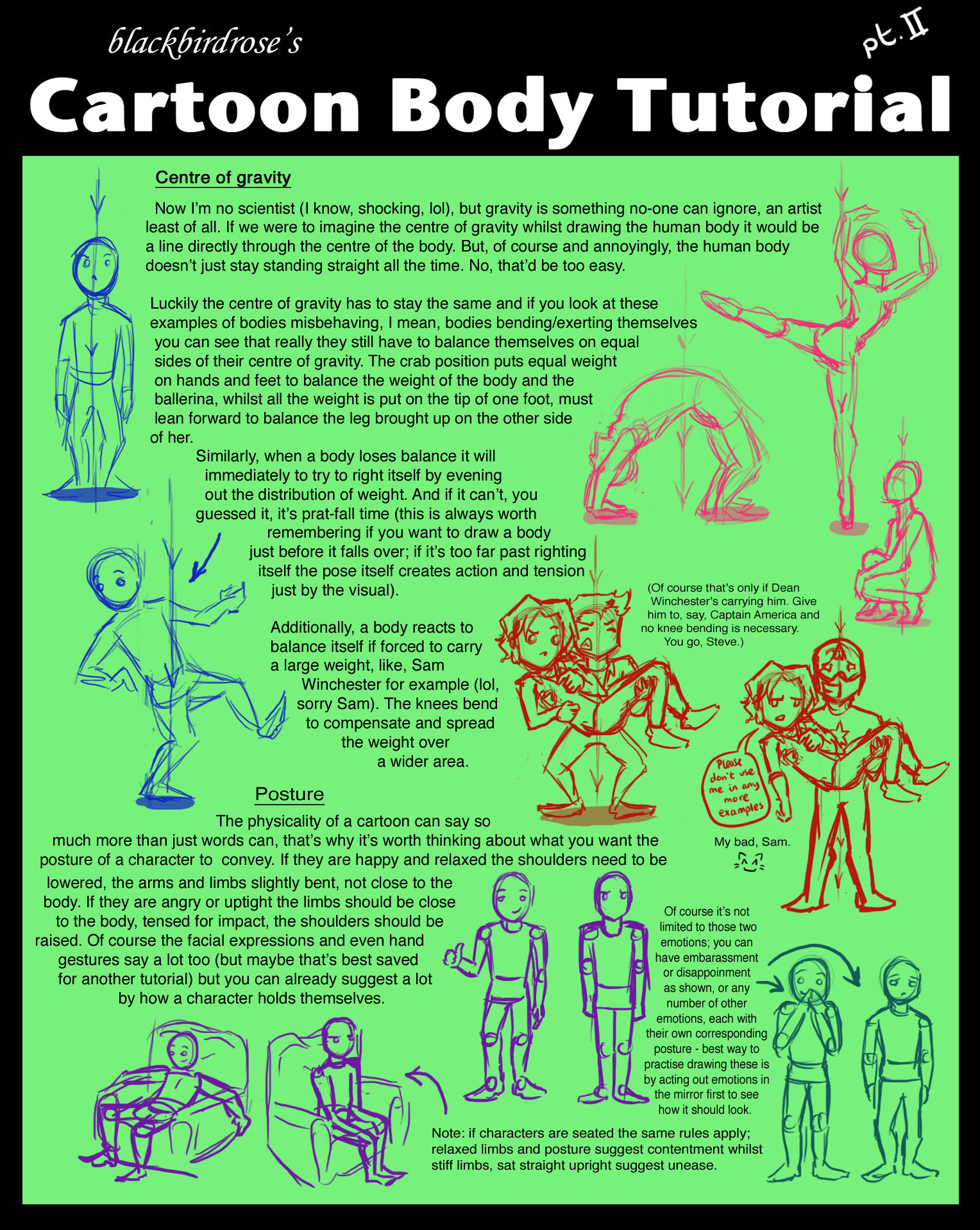 BBR style: Toon Body Tutorial 2 by blackbirdrose