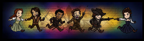 BBC The Musketeers